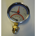 Temperatuur/Manometer